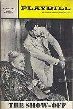 circa 1960s THE SHOW-OFF - NATIONAL THEATRE PLAYBILL PROGRAM