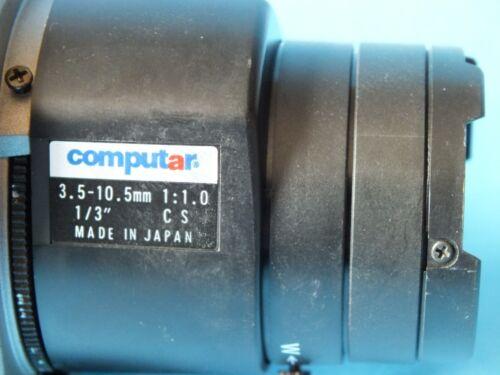"NOVUS  NVC-560DN+COMPUTAR 3.5-10.5mm 1:1.0 1//3/"" CS"