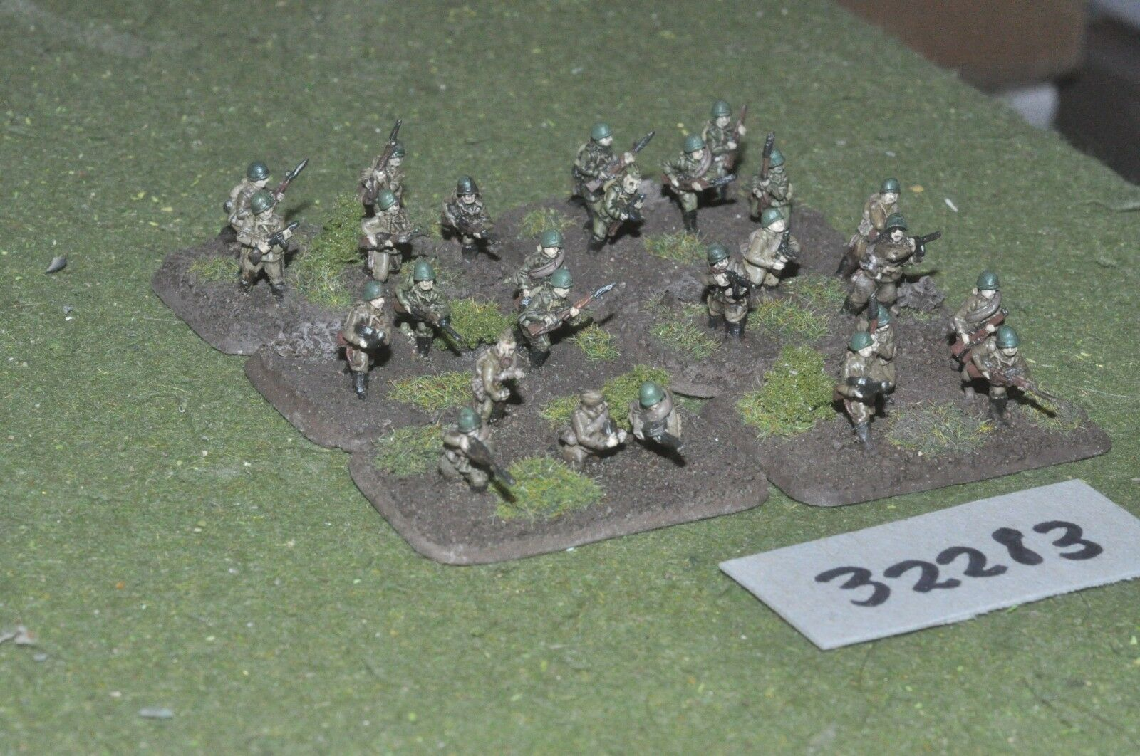 15mm WW2   russian - section 26 figures - inf (32283)