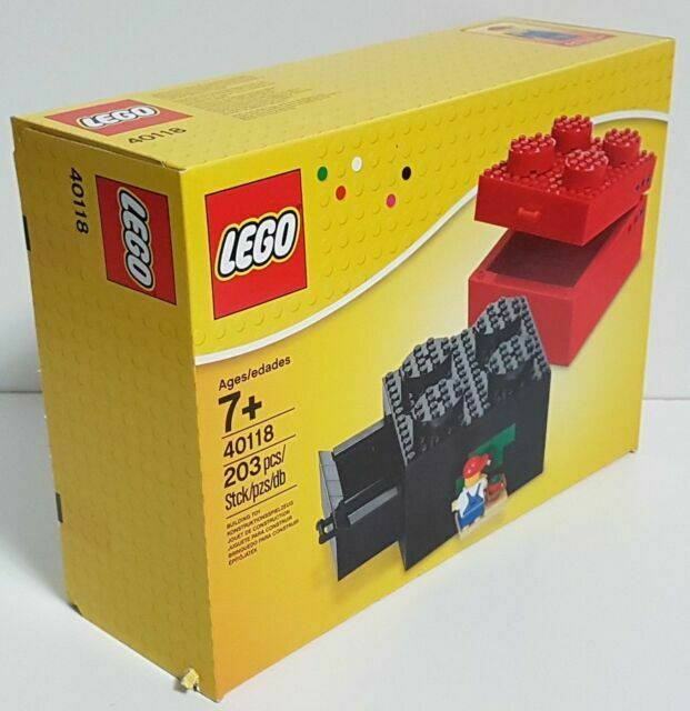 Toy Lego Buildable Brick Box 2x2 40118