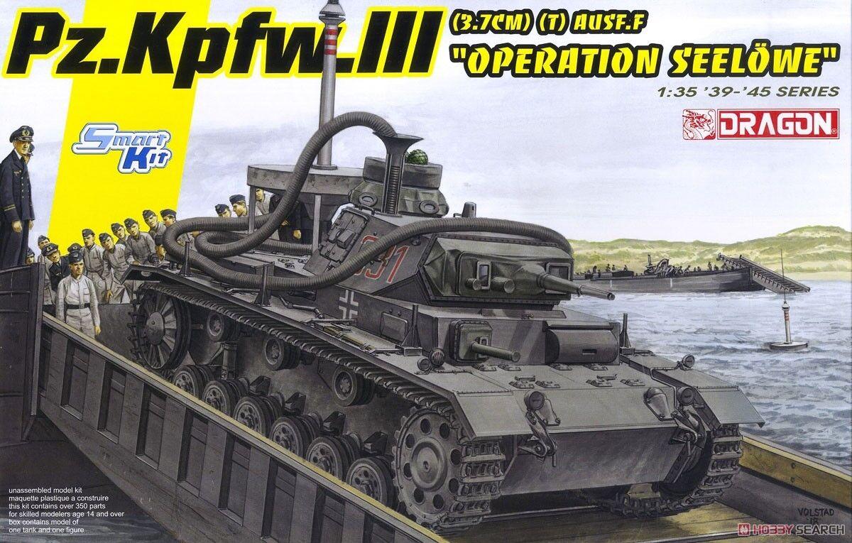 1 35 Dragon Pz.Kpfw.III (3.7cm) (T) Ausf.F `Operation Seelowe`