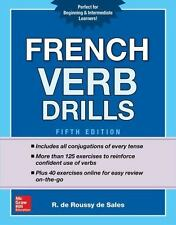 French Verb Drills by De Roussy de Sales (2017, Paperback)
