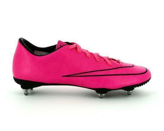 Mens NIKE MERCURIAL VICTORY V SG Pink Football Boots 651633 660