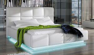 bett polsterbett asti 160x200 mit bettkasten und lattenrost sonderangebot ebay. Black Bedroom Furniture Sets. Home Design Ideas