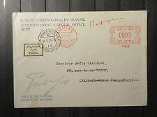 Schweiz Int. Labour Office, Brief von 1931    (#157)