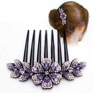 Hair-Accessories-Flower-Bridal-Hair-Clips-Hair-Comb-Hair-Pins-Slide-Clips