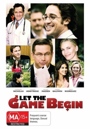 1 of 1 - Let The Game Begin (DVD, 2010) Brand New & Sealed