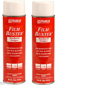 Aerosol Film Buster Floor Baseboards Ceramic Cleaner Wax