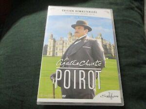 "COFFRET 3 DVD NEUF ""HERCULE POIROT (Agatha Christie) - SAISON 4"" David SUCHET"