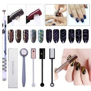 Nail-Art-Cat-Eye-Magnetic-Stick-3D-Effect-Plate-for-UV-Gel-Polish-Manicure-Tools