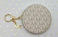 Michael Kors ☆ Signature Circle Coin Keyfob & Bag Charm Powder Blush Multi