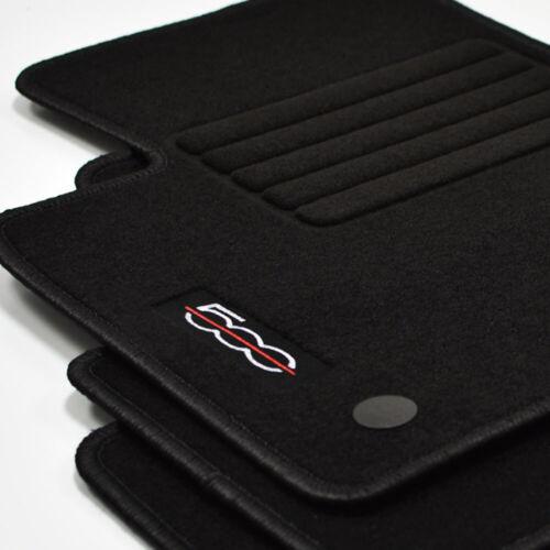 500 convertible a partir del año 2013 Gamuza tapices 4 piezas Edition sw para Fiat 500