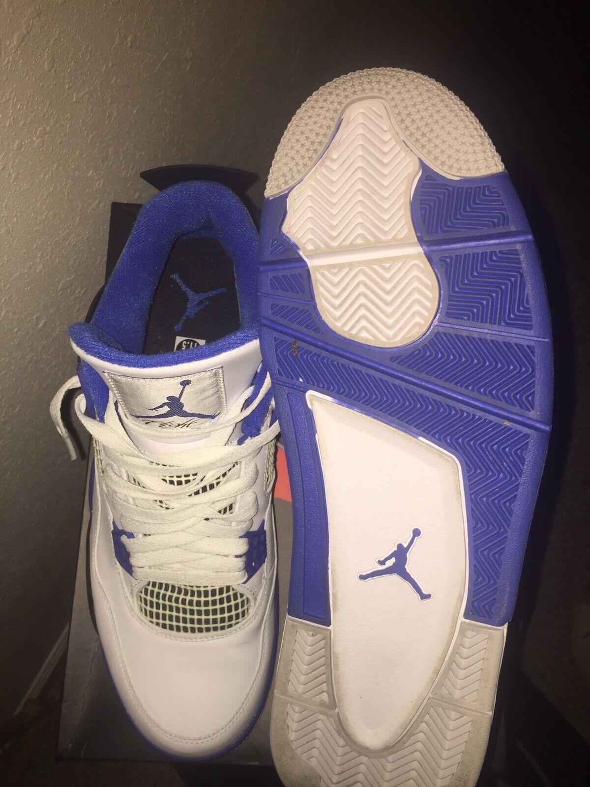 Air Jordan 4 Retro  Military bluee  Mens Size 11.5   GREAT CONDITION