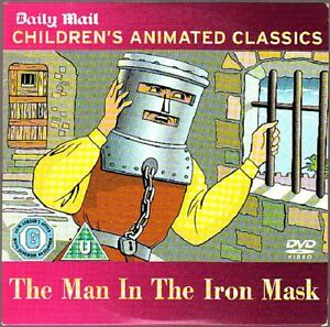 DVD Childrens animated Classic The Man in the Iron Mask - Preston, United Kingdom - DVD Childrens animated Classic The Man in the Iron Mask - Preston, United Kingdom