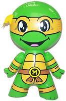 Michelangelo Ninja Turtle Character Orange Mask Tmnt Inflatable Toy