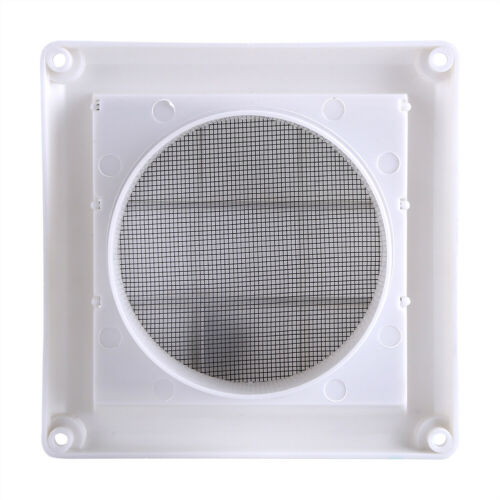20x20cm Plastic Air Vent Grille Cover 3 Flaps Wall Duct Ventilation Grill Net US