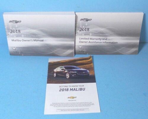 18 2018 Chevrolet Malibu owners manual BRAND NEW