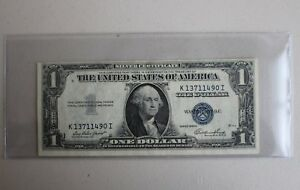 1935 B $1.00 Silver Certificate CU