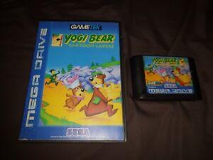 Yogi bear cartoon capers sega mega drive game ebay