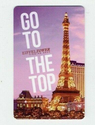 PARIS Casino LAS VEGAS Room KEY Card Hotel Eiffel Tower Go To the Top