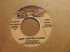 """The Captain and Tennille - Happy Together / Baby You Still Got It 7"""" 45 Record"""
