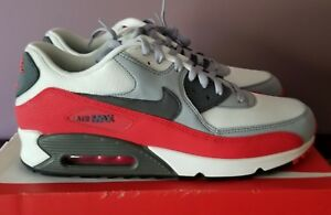 4ac4882f5f Nike Air Max 90 Men s size 13 Wolf Grey Challenge Red 537384-039 New ...