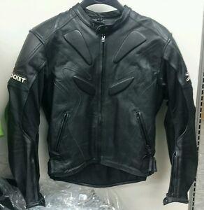 Joe Rocket Atomic 5.0 Tall Mens Street Hog Harley Riding Motorcycle Jacket