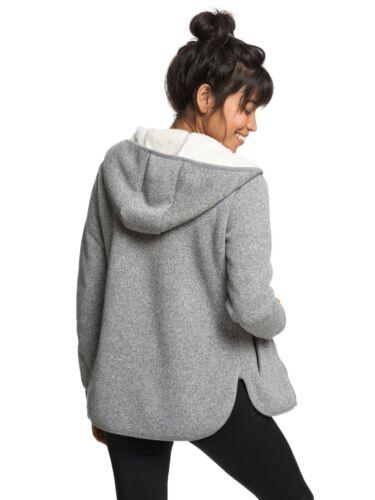 Top Hooded Womens super Zipped Sherpa Zip Cost Hoodie 8w 7 Roxy Fleece Kta Hoody eWIEHD29Y