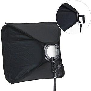 Softbox-Bank-Pieghevole-SB1009-80x80cm-Portatile-Hot-shoe-per-Flash-a-Slitta