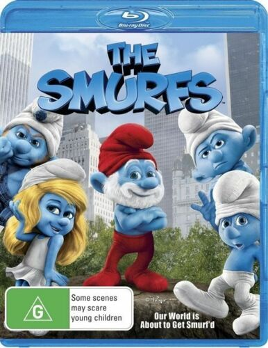 1 of 1 - The Smurfs (Blu-ray, 2012) BRAND NEW!