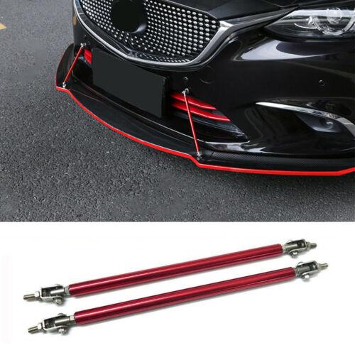 Black Carbon Bumper Lip Diffuser Struts Shock Rod Stabalizers Support for Dodge