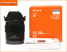 Sony FE 28mm F2 Lens  SONY E MOUNT LENS + Free UK Post