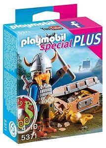 PLAYMOBIL-5371-VIKINGO-CON-COFRE-DEL-TESORO-SPECIAL-PLUS-NUEVO-DESCATALOGADO