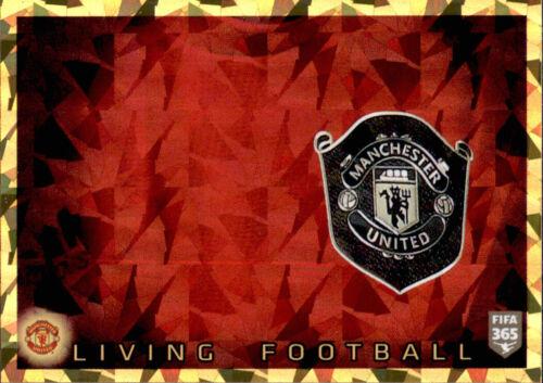 Manchester United FC Living Football Panini Fifa 365 2020 Sticker 74