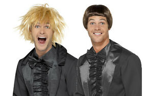 50ed254f32ec Mens 90's Dumb & Dumber Wig Set Harry Lloyd Fancy Dress Funny Film ...