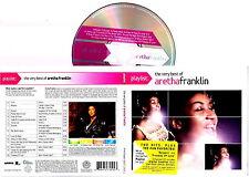 ARETHA FRANKLIN - The Very Best Of Aretha Franklin 2008 CD DIGIPACK  Import RARO