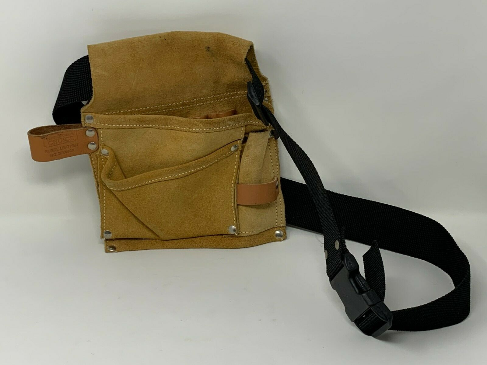Professional's Choice Suede Leather Tool Bag Belt No. IPK489X
