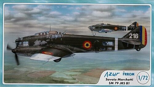 Frrom-Azur 1 72 Savoia Marchetti SM.79 JIS JRS B1 FR005