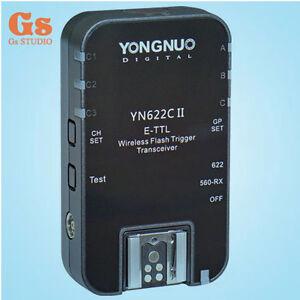 Yongnuo-1PCS-YN-622C-II-E-TTL-wireless-flash-trigger-Transceiver-for-Canon-560TX
