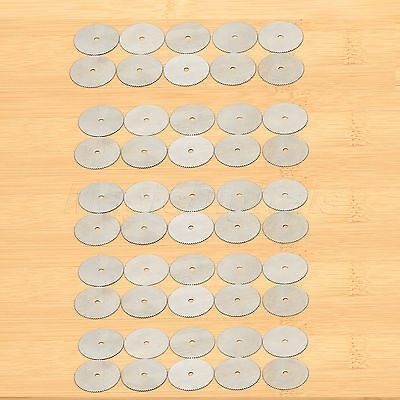 200Pcs 22mm Steel Saw Disc Wheel Cutting Blades For Grinder Drills Rotary Tools