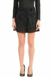 Just-Cavalli-Black-Women-039-s-Casual-Shorts-US-s-IT-40