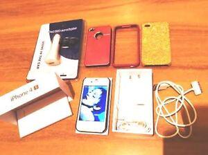 APPLE-IPHONE-4S-16GB-BIANCO-COVER-AURICOLARI