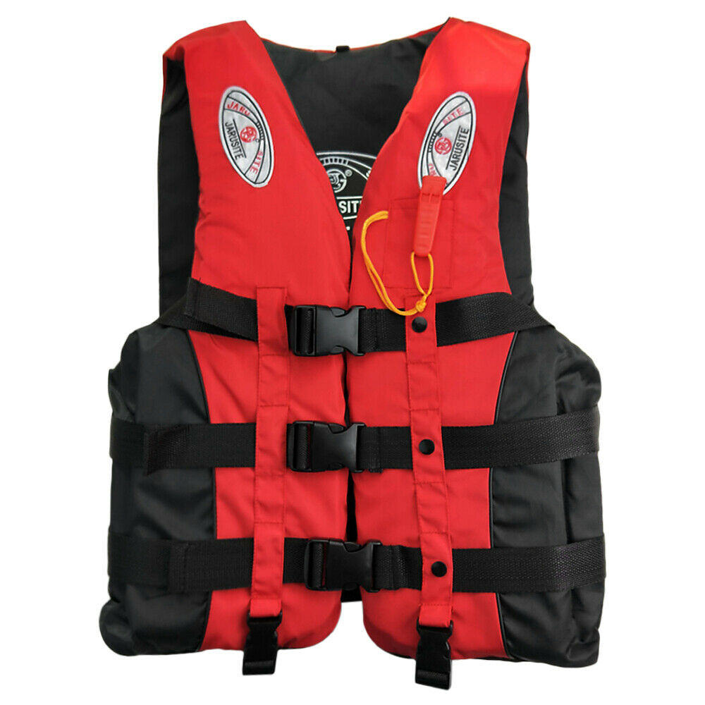 Adults Life Jacket Safety Premium Neoprene Surfing Diving Swimming Survival Vest