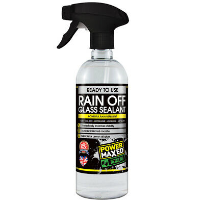 Power Maxed Rain Off Glass Sealant Rain Repellent Car Care 500ml