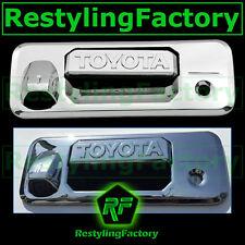 14-15 TOYOTA TUNDRA CrewCab Chrome Tailgate Trim Overlay Cover W/Camera Hole