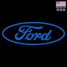 "Large 30"" Ford Vinyl Decal -BLUE- Car Truck Adhesive Window Sticker FOMOCO Logo"