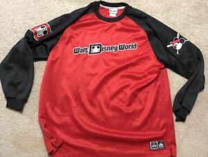 premium selection 341c7 29446 Details about Walt Disney World long sleeve baseball Jersey Size XL