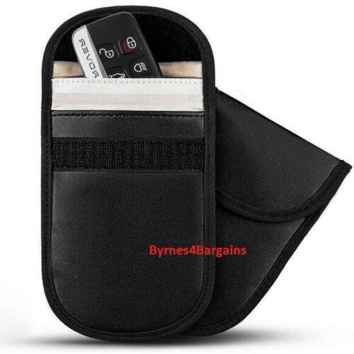 Signal Blocker Car Key Case Faraday Cage Fob Pouch Key-less RFID Blocking Bag