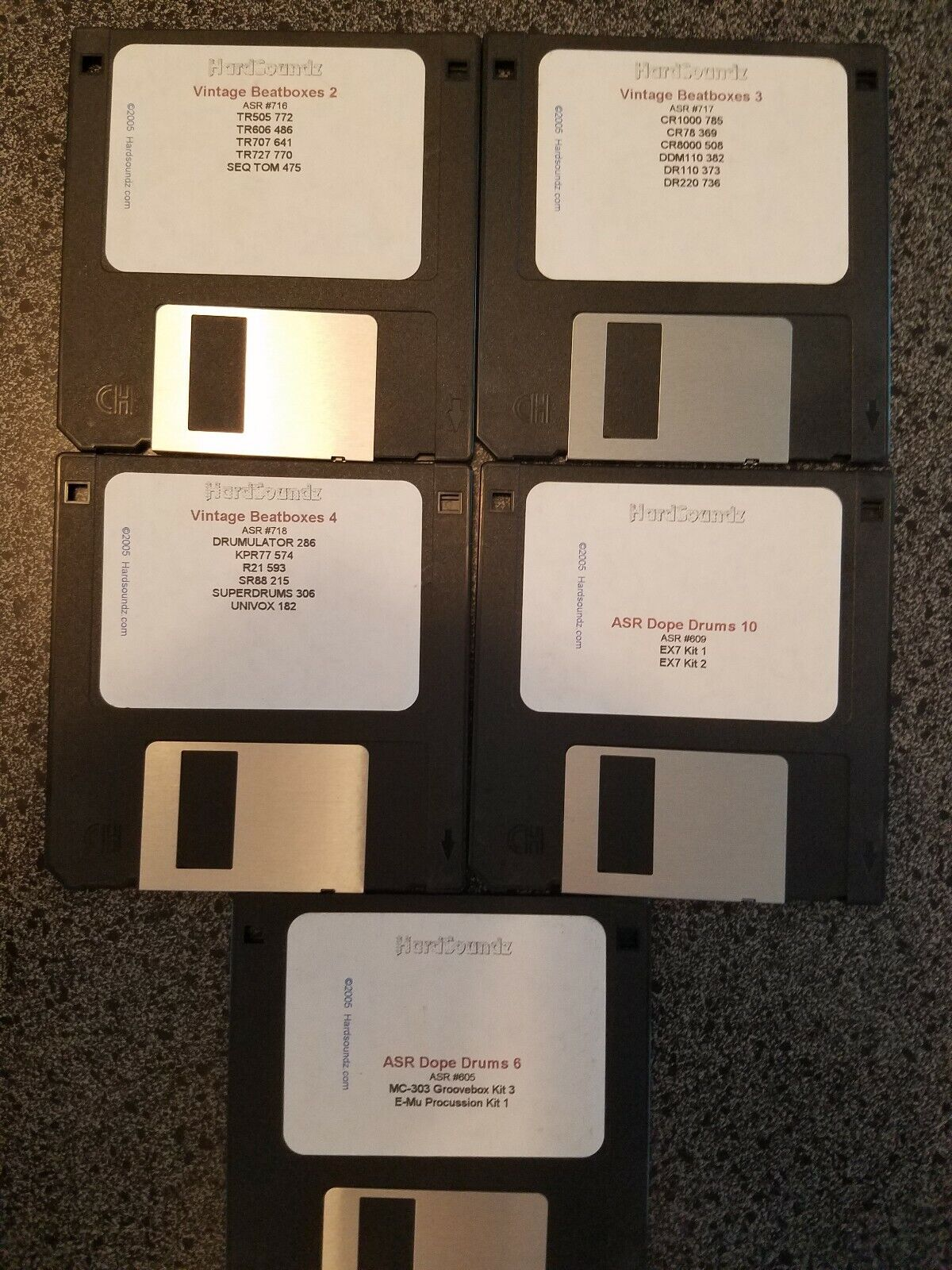 ENSONIQ ASR 10 88, TS10 12 ASRX (11) DISK LIBRARY RARE   MUST READ  SET 2