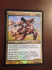 Magic the Gathering FOIL KNIGHT OF THE RELIQUARY  DD Knights vs. Dragons SPANISH